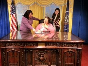 Diplomatic Decisions in The Oval Office Took Place